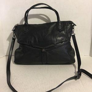 Botkier Black leather satchel handbag